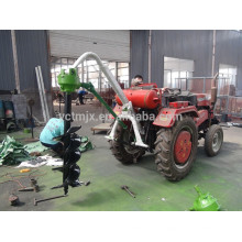 Excavadora portátil con orificio para poste de tractor hidráulico, excavadora con orificio de 3 puntos
