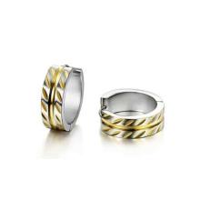 1 grama do ouro para o homem conduziu a foto do anel de dedo do anel da forma da pasta da luz