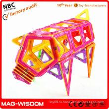 Строительная кирпичная строительная игрушка