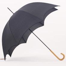 Parapluie droit manuelle à poignée en bois (BD-38)