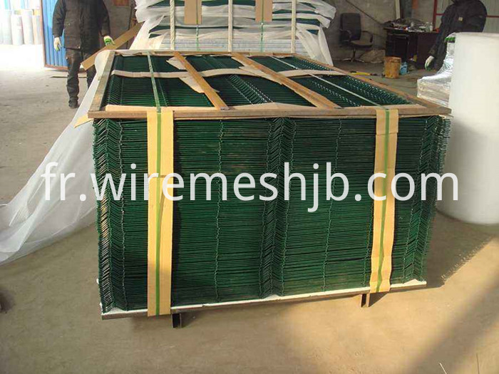 Green Welded Mesh Fence Panels