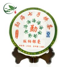 2009 Menghai Banglong Dorf Roh Pu Er / Pu-Erh Tee, 250 g / Kuchen