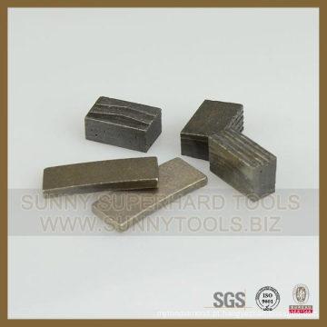 Segmento de corte de granito de segmento Laney