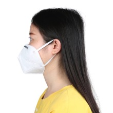 Disposable Non woven KN95 Folding Half Face Mask