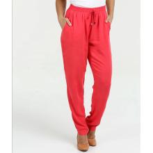 pantalones de bolsillo con cintura elástica
