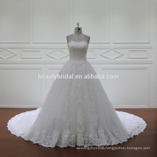 XF1107 Strapless wedding dress bridal gown 2017