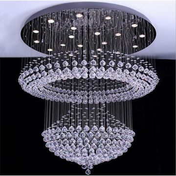 lustre en cristal fantaisie droplight suspension éclairage