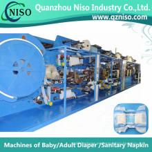 China Fabricación de alta velocidad de la máquina del pañal del levantamiento (LLK500-SV)