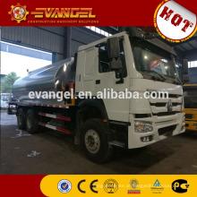 HOWO asfalto pulverizador 6x4 pequeno asfalto distribuidor caminhão para venda
