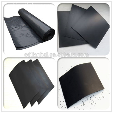 Aquaponics Fish Tank Giá HDPE 2 mm Geomembrane lót