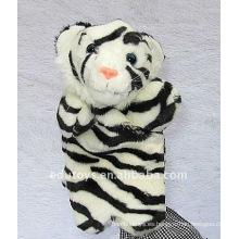 Juguetes educativos de la marioneta de la mano del tigre