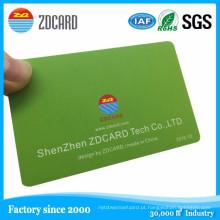 Cartão / cartão personalizados do disconto do VIP da forma personalizada