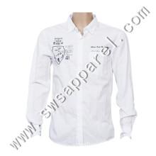 Custom High Quality Fashion Cotton Man's Dress Shirts