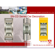 Cabina elevadora de observación con toldo rayita (SN-CD-210)