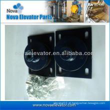 Almofada anti-vibração do elevador Quadrate para a máquina