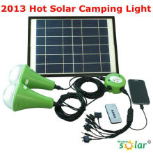 2014 Hot Rechargeable led reading lamp Solar powered
