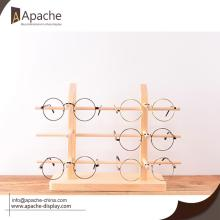 Popular Design for for Glass Counter Display Wooden Eyewear Display Rack For Eyeglasses Store export to East Timor Wholesale