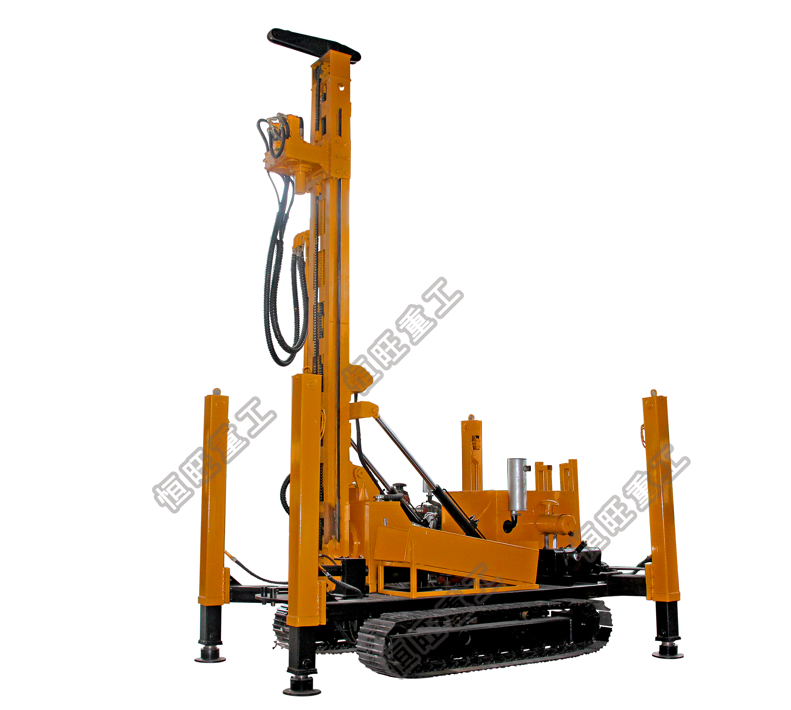 water air drilling rig