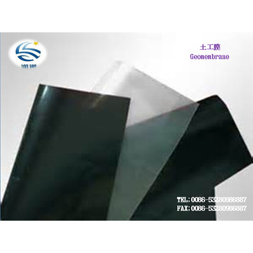Smooth Soft Landfill HDPE Geomembrane 0.02mm-3mm LDPE