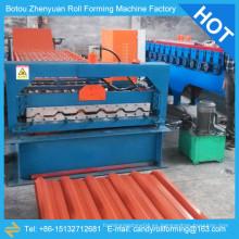 Hoja de acero galvanizado que forma la máquina, rodillo de la sola capa que forma la máquina, máquina de la hoja de la azotea
