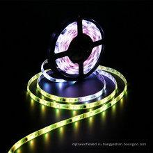 Водить ws2811 полосы, Программируемый и адресно, 5050 цифровой RGB света СИД,30leds/М Труба IP67 Водонепроницаемый мечта Магия цвета 12 В