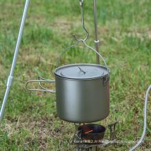 Poignée Camping Pot Cuisson Set Pot Vaisselle