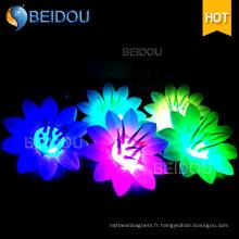 Direct Factory Étapes de l'événement Décorations de mariage Fleurs gonflables à LED