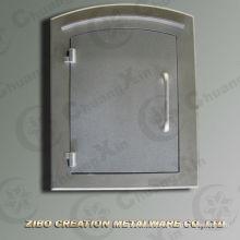 Puerta de buzón de aluminio de fundición piezas de puerta de fundición
