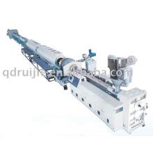 Maquinaria plástica de la tubería de pared sólida de PA/PP/PE