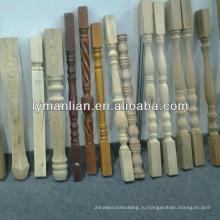 столб из цельной древесины / на деревянной колонне / бластер древесины