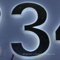 Высокое качество Пластиковые светодиодные буквы алфавита