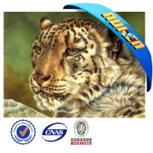 Natural Material 3D Animated Picture of Tiger