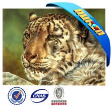 Натуральный материал 3D анимированные картинки Тигра