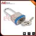 Elecpopular Factories Wenzhou Blue colour Safety Rigid Steel 34mm Lock Body Long Shackle lock