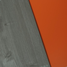 Panneau décoratif en mélaminé stratifié simple face de 6 mm