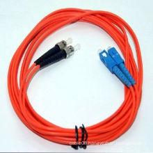 Competitive Sc to St Multi-Mode Optical Fiber Jumper