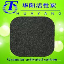 Filtro de carbón activado en columna para purificación de agua potable