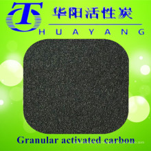 Columnar activated carbon filter for drinking water purification