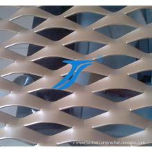 Diamond Aluminum Decoration Expanded Metal Mesh of 3D Wallpap