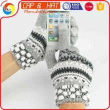 2015 Luvas mornas quentes da venda, luvas mornas da tela de toque de Smartphone, luvas de Whoelsale em China