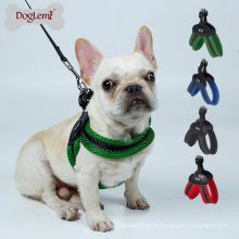 Refletindo V estilo Mesh pet dog harness