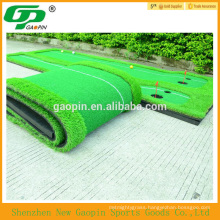 Fashion mini golf green,driving range golf mat, artificial grass for cheap price