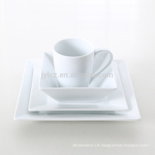 2015 hot sale white dinner set in ceramic