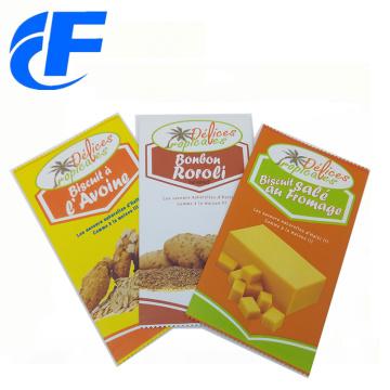 Пользовательский ламинированный пластиковый пакет для упаковки пищевых продуктов mylar