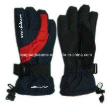 Пользовательские оптовые зимние лыжные перчатки снега