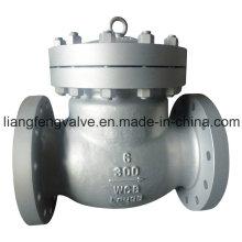 Качающийся обратный клапан Углеродистая сталь RF