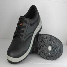 Sapatos de segurança para trabalho (sola de injeção de PVC / espuma de gravação de PVC em relevo).
