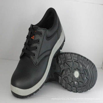 Zapatos de seguridad de trabajo (PVC Injection sole / PVC Embossing espuma superior).