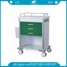 AG-GS005 Hospital Dark Green Medication Trolley