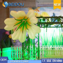 Party Events Wedding Stages LED Decorations Inflatable Flowers